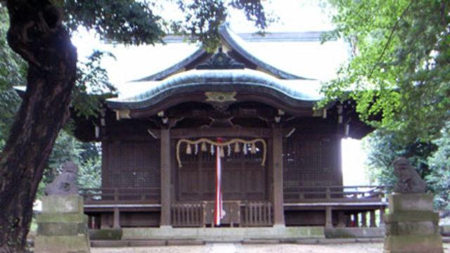 日枝神社(和名ケ谷)- 毎年行われる三匹獅子舞が有名