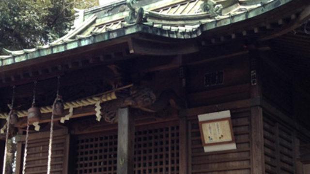 金山神社 – 歩道橋から歩いていける神社