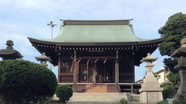 胡録神社(岩瀬)- 岩瀬村の鎮守として創建された神社