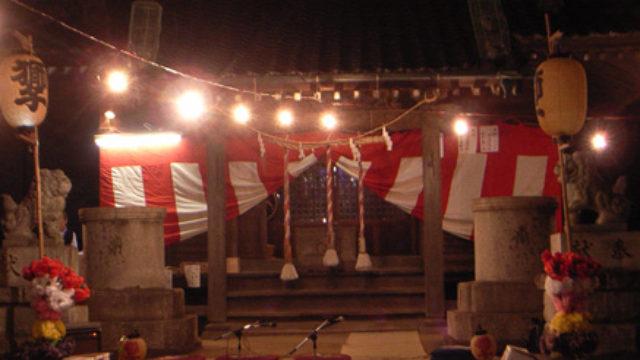 胡録神社(大橋)- 大橋の三匹獅子舞が有名