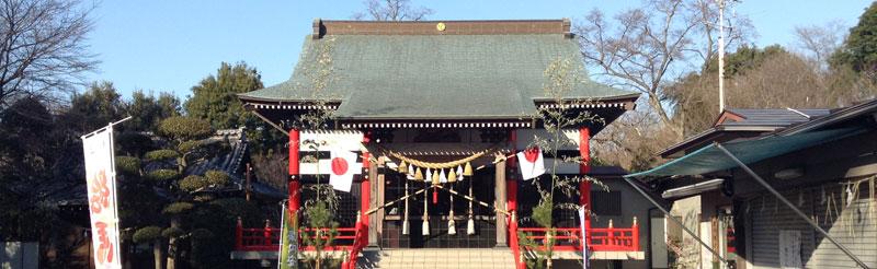 熊野神社(金ケ作)- ご神木のクスノキが存在感のある神社