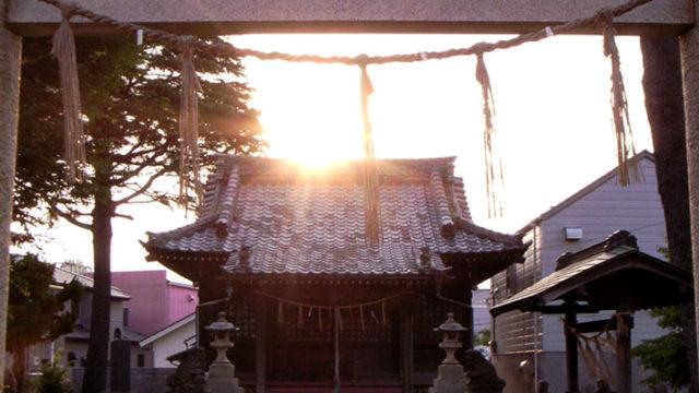 妙見神社(中根)- 九州千葉氏の祖・千葉胤貞の伝説が残る神社